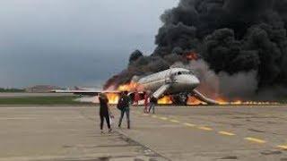 Сущий ад в Шереметьево: сгорели заживо в новом Суперджете
