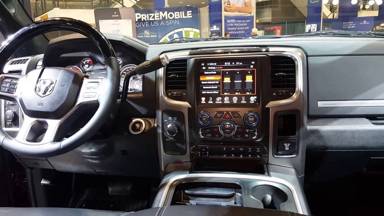 2016 dodge ram 2500 heavy duty interior walkaround price. Black Bedroom Furniture Sets. Home Design Ideas