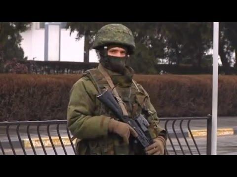 Ukraine War - Russian army seize Ukrainian airports in Crimea Ukraine