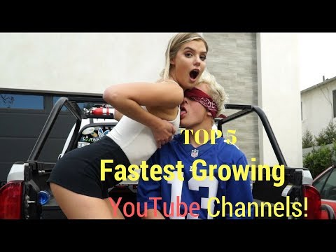 FASTEST GROWING YOUTUBE CHANNELS Right Now !! TOP 5
