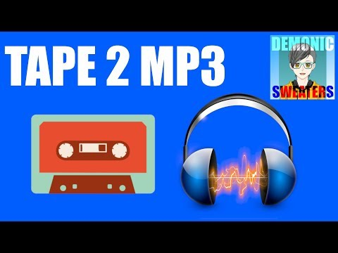 Transfer Cassette Tape To MP3 Using Audacity