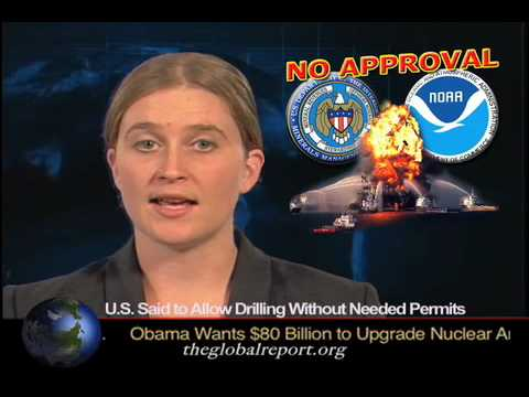 U.S. Said To Allow Drilling Without Needed Permits