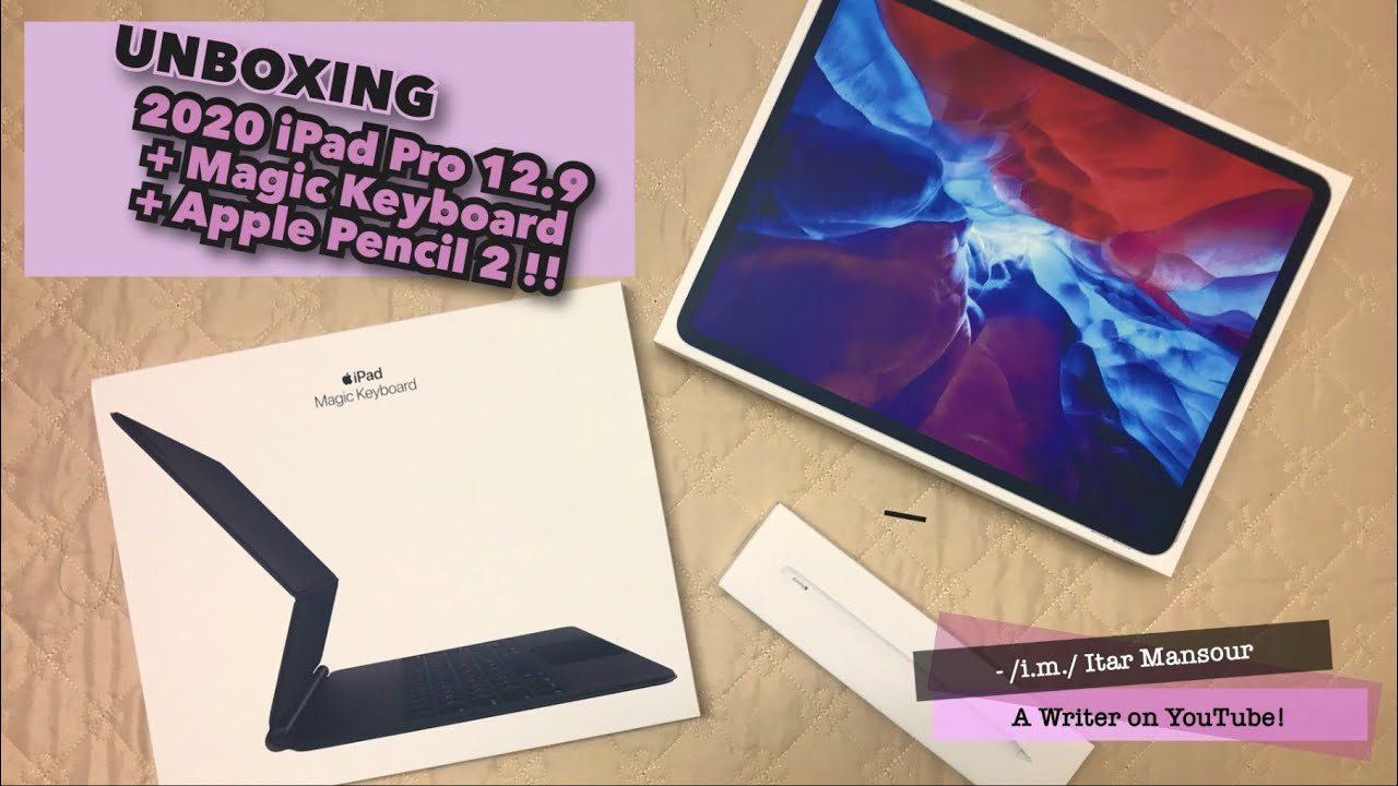 iPad Pro 12.9 (2020) + Magic Keyboard + Apple Pencil 2 ...