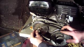 How to install tav2 torque converter...home made go kart build (part4)