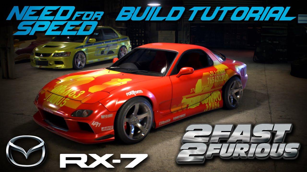 2016 Mazda Rx7 >> Need for Speed 2015 | 2 Fast 2 Furious Orange Julius ...