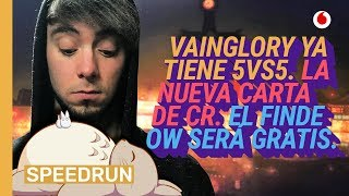 Speedrun 13/02: 5v5 en Vainglory, Arquero Mágico y Overwatch gratis