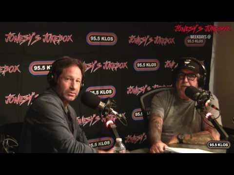 David Duchovny In-studio on Jonesy's Jukebox