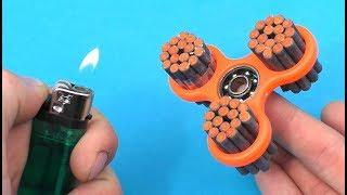 EXPERIMENT Petards VS Fidget Spinner