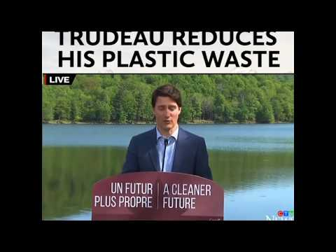 This is how Justin Trudeau reduces his plastic waste