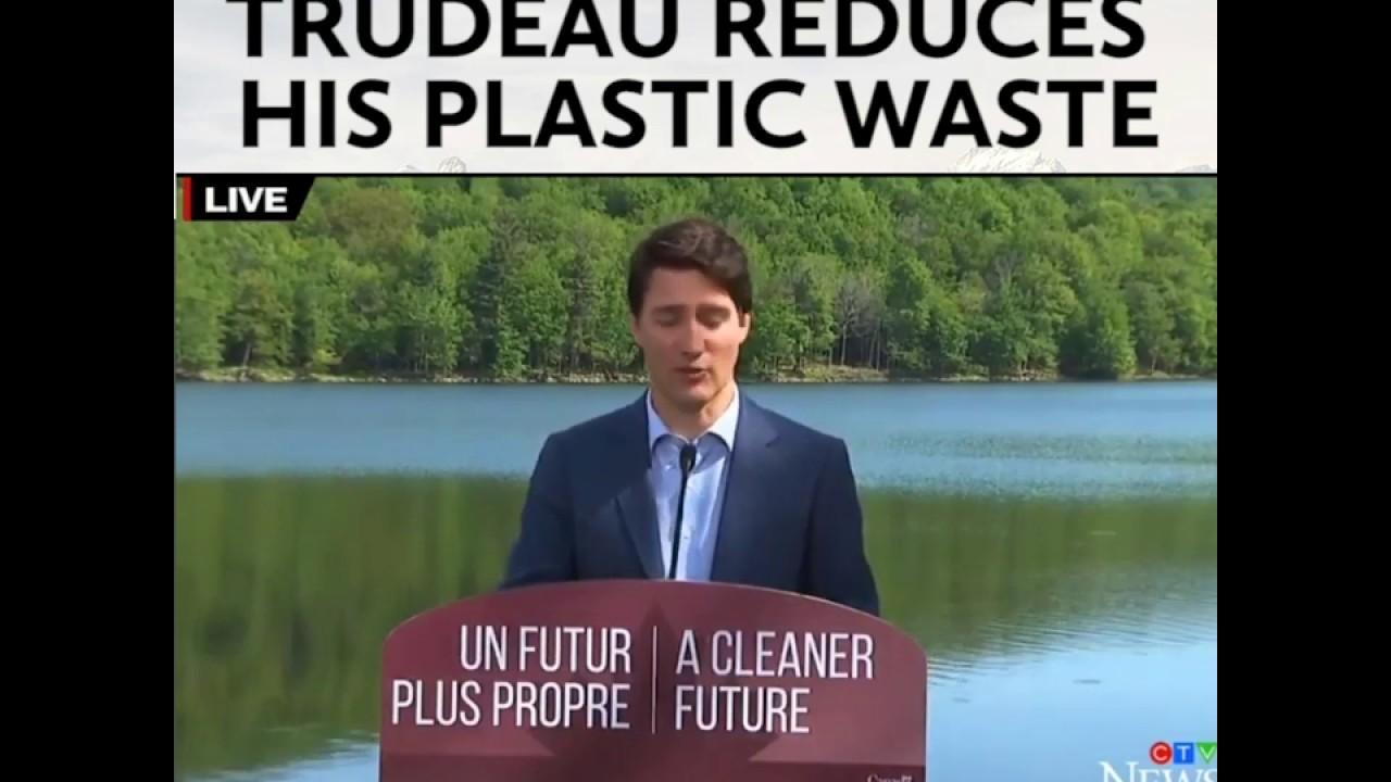 Justin Trudeau Water Bottle