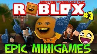 Annoying Orange Plays - ROBLOX: Epic Mini Games #3
