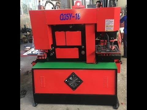 Q35Y-30 hydraulic ironworker machine, 160ton metal iron workers made in China