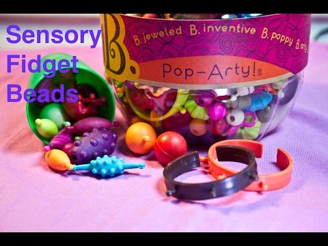 B. Pop Arty Beads as a Fidget