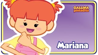 Repeat youtube video Mariana - Gallina Pintadita 1 - Oficial - Canciones infantiles para niños y bebés
