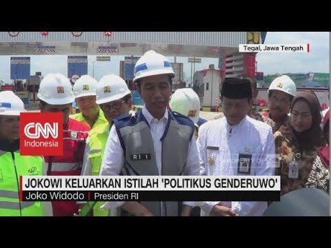 Jokowi Keluarkan Istilah 'Politikus Genderuwo' Mp3