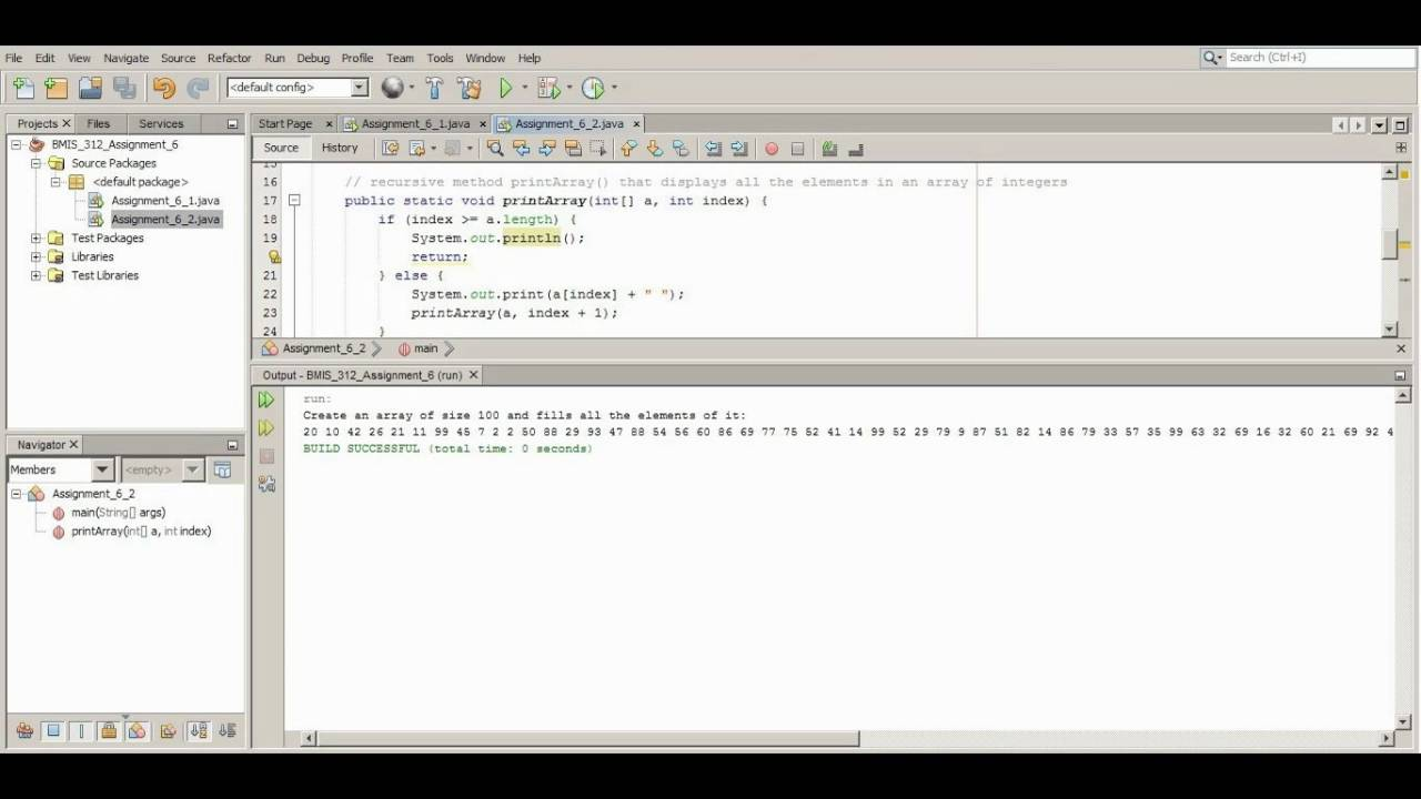 bmis advanced object oriented programming bmis 312 advanced object oriented programming homework help