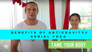 ANTIGRAVITY BENEFITS OF THE POSE - CHANDELIER - TAME LIFE
