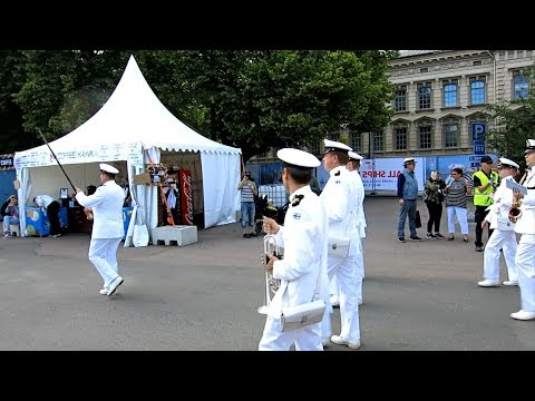 Tall Ships' Races Crew Parade in Turku 21.7.2017