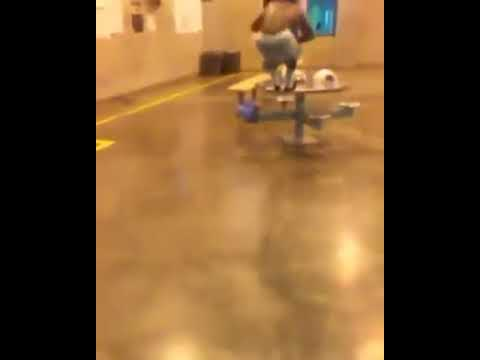 California Prison Workout: Table Jumping & Burpees