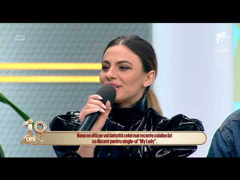 """Reea: """"Pe viitor voi lansa și piese în română pentru că lumea îmi tot zice că sunt franţuzoaică"""
