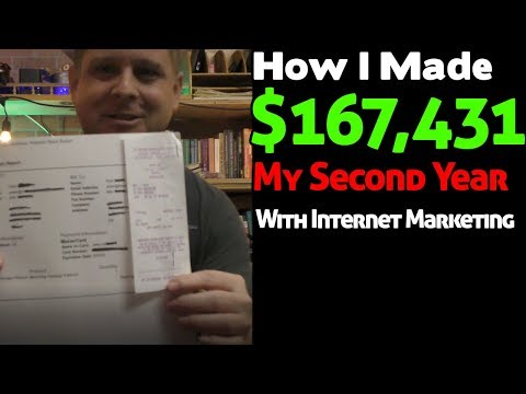 How I Made $167,431 My Second Year - Aggressive Marketing Strategies To Make Money Online For 2019