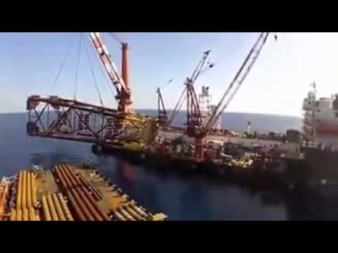 oil platform simulator | concepts of fixed offshore platform deck and jacket - 3