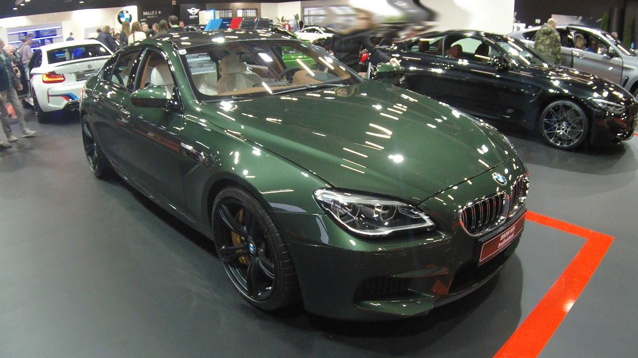 bmw m6 gran coupe competition individual f06 malchit green model 2017 walkaround. Black Bedroom Furniture Sets. Home Design Ideas