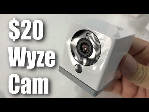 Wyzecam 1080p Hd Wireless Smart Home Camera With Night Vision Review Youtube