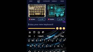 Similar Apps to Purple Black Simple Keyboard Theme Suggestions