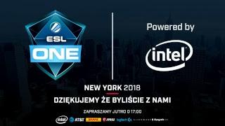 ESL One New York 2018 | Faza Grupowa | Dzień 1 - Na żywo