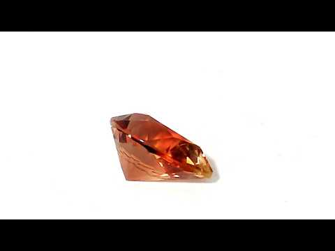 AAA OREGON SUNSTONEPEACH ORANGE WITH STRONG RASPBERRY RED FLASHES 3 61 CT