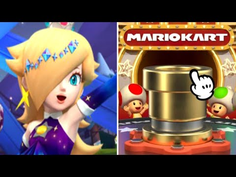 Mario Kart Tour - How Many Pulls For Rosalina (Aurora)? (Vancouver Pipe 1)