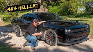 We Made Progress on 4x4 Off-Road Hellcat