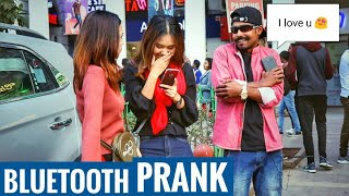 Bluetooth Prank -Flirting With Cute Girls ||Luchcha Veer||