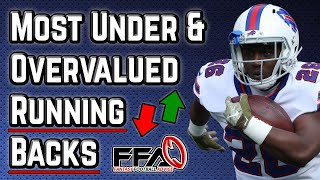 Most Undervalued and Overvalued Running Backs - 2020 Fantasy Football Advice