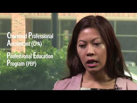 Michelle Eamiguel: Post-Graduate Certificate in Accounting