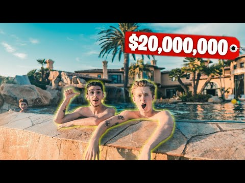 This Mansion Has a BACKYARD WATERPARK! (Richest Kid In America)