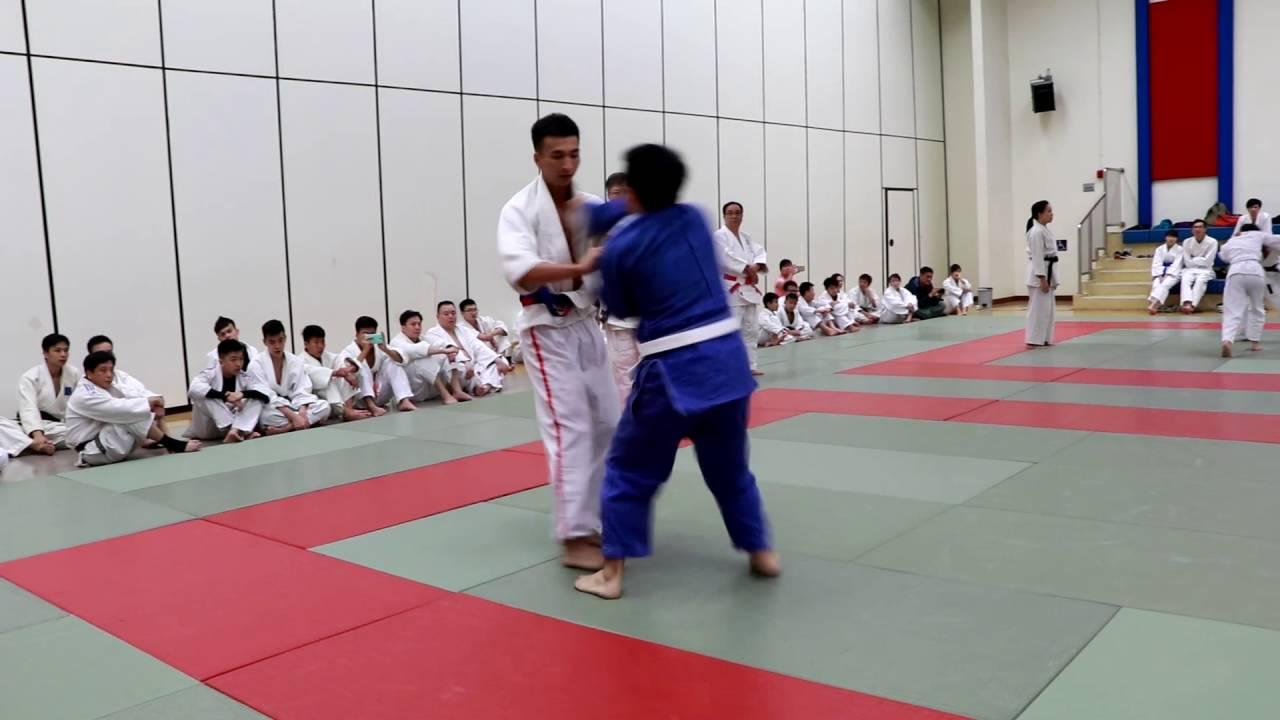 香港正東輿天津摔跤柔道隊交流比賽2016 - 04 - YouTube