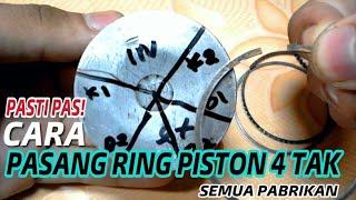 PASTI PAS!! Cara memasang ring piston