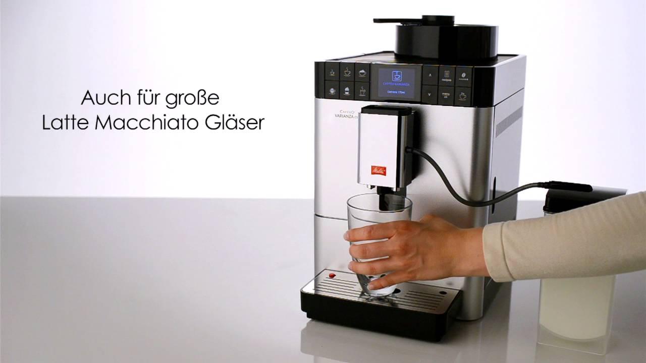 melitta varianza csp kaffeevollautomat f r grenzenlosen genuss youtube. Black Bedroom Furniture Sets. Home Design Ideas