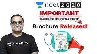 NEET 2020 Official Announcement | NEET 2020 Latest News | How to Fill NEET Form | Unacademy NEET