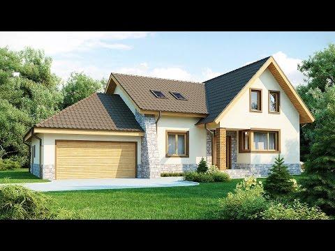 Проекты домов с цоколем