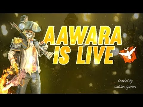 Free Fire Live Rush Gameplay With AAWARA007 - TEAM BFA