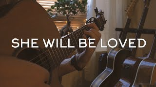 Maroon 5 - She Will Be Loved // Fingerstyle Guitar Cover Video