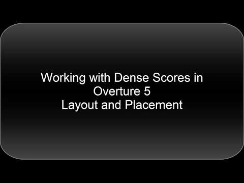 Short Score Sketching and Layout in Overture 5
