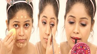 How to do Makeup|Step by Step Glowing Makeup for beginners|मेकअप कैसे करे?Be Natural