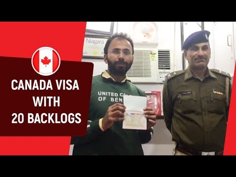 Canada Visa with 20 Backlogs