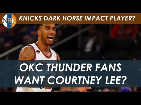 Can Knicks Trade Courtney Lee to OKC Thunder |  Surprise Impact Player? | NBA 2K19 Ratings