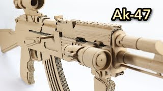 The Most Famous Gun | How To Make Cardboard Gun