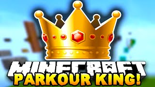 Minecraft THE PARKOUR KING! - w/ Preston, Lachlan, Woofless & Kenny